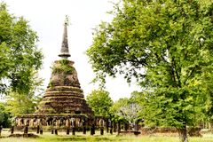 Sukhothai historical park, the old town Stock Photography