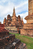 Sukhothai historical park, the old town of Thailand in 800 year Stock Photos