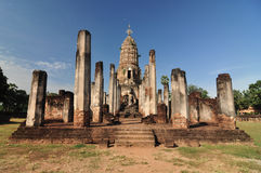 Sukhothai historical park, the old town of Thailand in 800 year Stock Photography