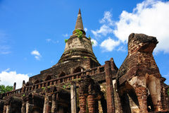 Sukhothai Historical Park, Sukhothai Royalty Free Stock Images