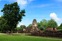 Sukhothai Historical Park, Sukhothai Royalty Free Stock Photos