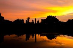 Sukhothai historical park at Sukhothai province in Thailand Royalty Free Stock Photo
