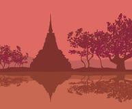 Sukhothai Historical Park, Sukhothai Province, Thailand Royalty Free Stock Photos