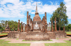 Sukhothai Historical Park, Sukhothai Thailand Stock Photos
