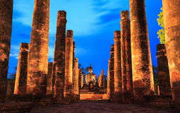 Sukhothai Historical Park Stock Photo