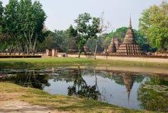 Sukhothai Historical Park in Thailand Royalty Free Stock Photos