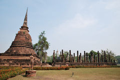 Sukhothai Historical Park in Thailand Stock Image