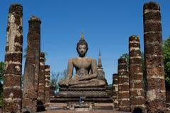 Sukhothai Historical Park, Thailand. Buddha image at Sukhothai Historical park Royalty Free Stock Image