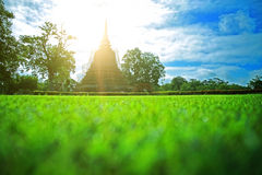 Sukhothai historical park Thailand Royalty Free Stock Photography