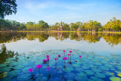 Sukhothai Historical Park, of Thailand Stock Images