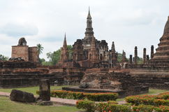 Sukhothai Historical Park,thailand. Historic Town of Sukhothai and Associated Historic Towns,World Heritage Site by UNESCO Royalty Free Stock Photography
