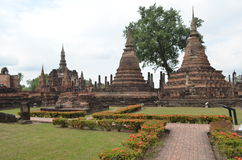 Sukhothai Historical Park,thailand. Historic Town of Sukhothai and Associated Historic Towns,World Heritage Site by UNESCO Royalty Free Stock Photos