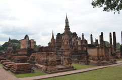 Sukhothai Historical Park,thailand Royalty Free Stock Photo
