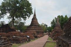 Sukhothai Historical Park,thailand. Historic Town of Sukhothai and Associated Historic Towns,World Heritage Site by UNESCO Royalty Free Stock Image