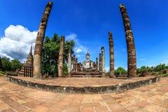 Sukhothai. Historical park Thailand .sunshine blue sky Stock Image