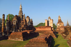 Sukhothai Historical Park in Thailand Royalty Free Stock Photo