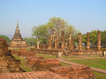 Sukhothai Historical Park in Thailand Stock Photo