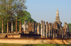 Sukhothai Historical Park in Thailand Stock Photos
