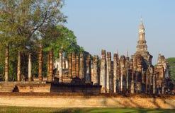 Sukhothai Historical Park in Thailand stock photos