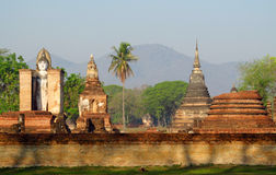 Sukhothai Historical Park in Thailand Stock Images