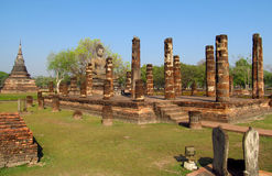Sukhothai Historical Park in Thailand royalty free stock photography