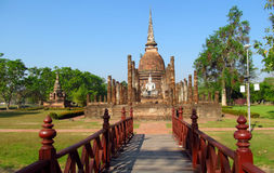 Sukhothai Historical Park in Thailand royalty free stock photos