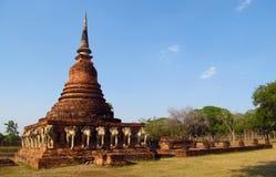 Sukhothai Historical Park in Thailand stock photo