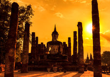Sukhothai historical park in Thailand Stock Photography
