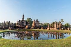 Sukhothai Historical Park, World heritage site in Thailand Stock Image
