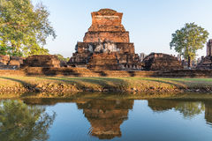 Sukhothai Historical Park, World heritage site in Thailand Royalty Free Stock Photography