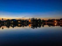 Sukhothai Historisch Park in Sukhothai royalty-vrije stock fotografie