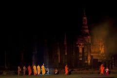 Sukhothai historischer Park. Stockfoto