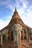 Sukhothai historischer Park Stockfotografie