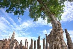 Sukhothai historischer Park stockbild