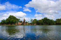 Sukhothai historischer Park, Thailand stockfotografie