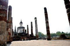 Sukhothai historiska Thailand arkivbild