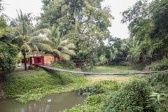 Sukhothai kanal fotografering för bildbyråer