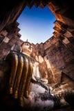 Wat Si Chum Sukhothai Stock Image