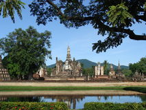 Sukhothai nationalpark, Thailand Arkivbild