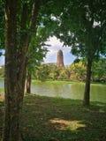 Sukhothai parkerar nationellt historiskt, Sukhothai, Thailand arkivfoton