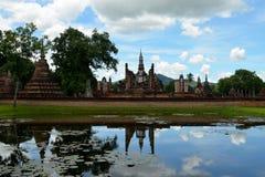 Sukhothai-Reflexionen (Thailand) Stockbild