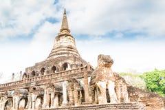 Sukhothai ruin old city Stock Image