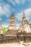 Sukhothai ruin old city Stock Photos