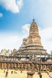 Sukhothai ruin old city Royalty Free Stock Images