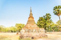 Sukhothai ruin old city Stock Photography