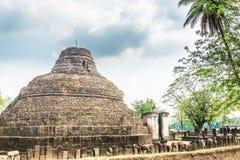 Sukhothai ruin old city Royalty Free Stock Photography
