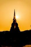 Sukhothai ruin old city Royalty Free Stock Photos