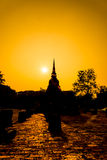Sukhothai ruin old city Stock Photography