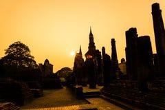 Sukhothai ruin old city Stock Photo