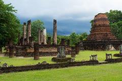 Sukhothai ruins Stock Images